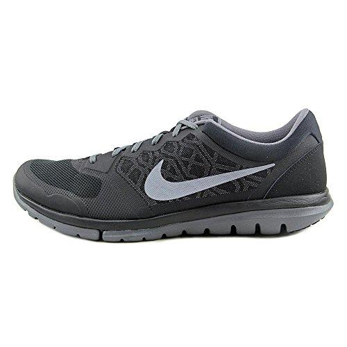 Nike Flex 2015 RN Zapatillas de running, Hombre Mehrfarbig (Black/Cool Grey-Dark Grey)