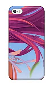 For DanRobertse Iphone Protective Case, High Quality For Iphone 5/5s Original Anime Girl Skin Case Cover