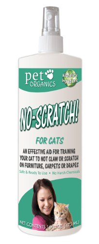 Pet Organics (Nala)) CNB04116 No Scratch Spray, 16-Ounce