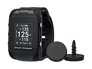 Shot Scope V2 Unisex Golf GPS Watch and Automated Performance Tracking System