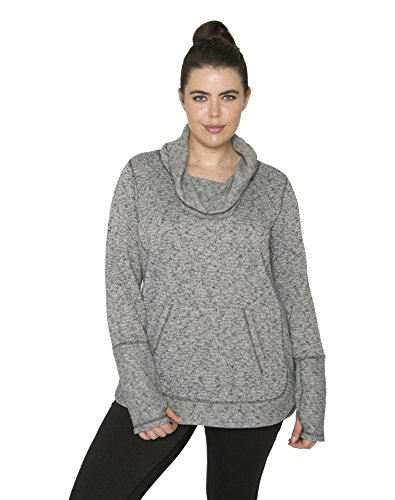 RBX Active Women's Plus Size Long Sleeve Athleisure Pullover