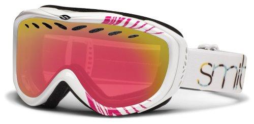 Smith Optics Transit Goggle (White Mariposa Frame, Red Sensor Mirror Lens), Outdoor Stuffs