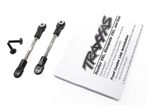 Traxxas 2444 Turnbuckles / Camber Links with Rod Ends,  47mm (pair)