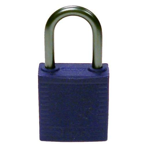 Brady 143164, Compact Safety Padlock Purple (Pack of 12 pcs)