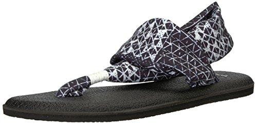 Ojai Women's Flop Sanuk 2 Sling Yoga Black Flip Folk xU1wqz70Tw