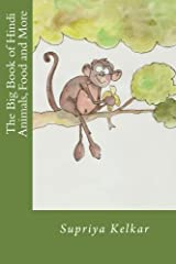 The Big Book of Hindi Animals, Food and More Paperback