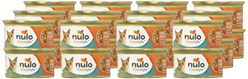 Picture of Nulo Adult & Kitten Grain Free Canned Wet Cat Food (Turkey And Halibut Recipe, 3 Oz, Case Of 24)
