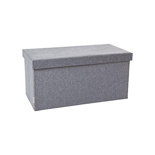 JJ Cole Storage Bench Slate