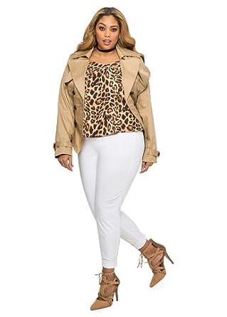 cf2e4fcadd5 Amazon.com  Ashley Stewart Women s Plus Size Ultra Smoothing Body ...