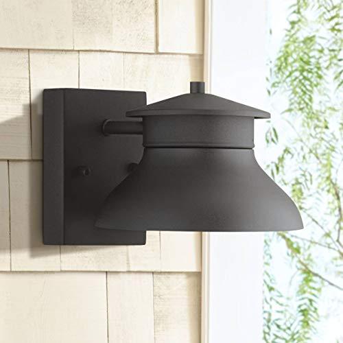 Danbury Modern Outdoor Wall Light Fixture LED Black 5