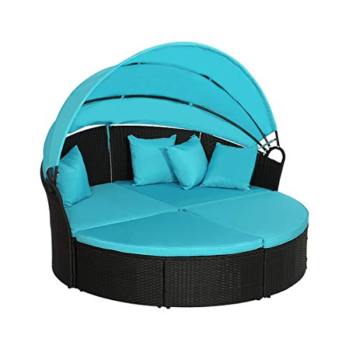 wicker outdoor daybed - 6