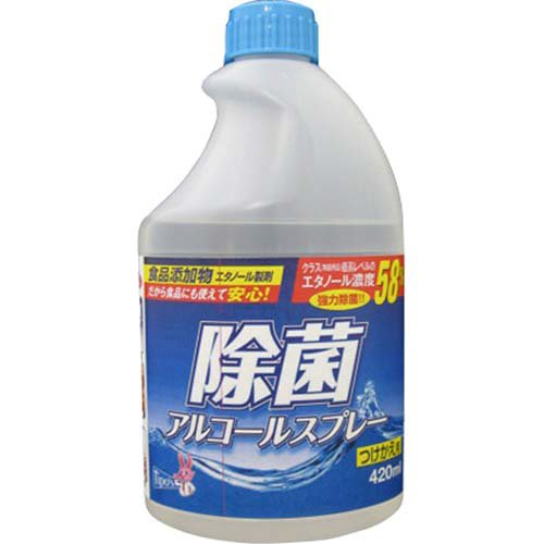 ティポス 除菌アルコール 付替 420ml