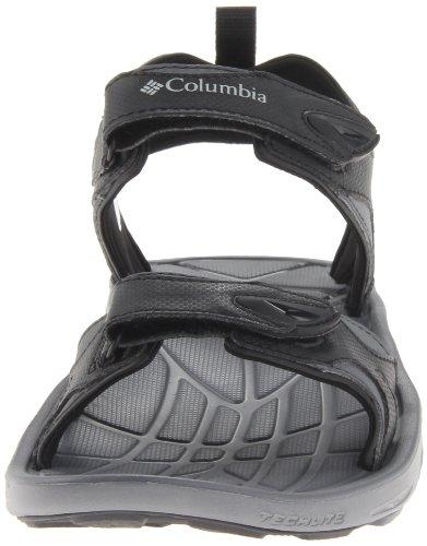 Columbia Techsun Vent, Sandali da uomo Black/Columbia Grey