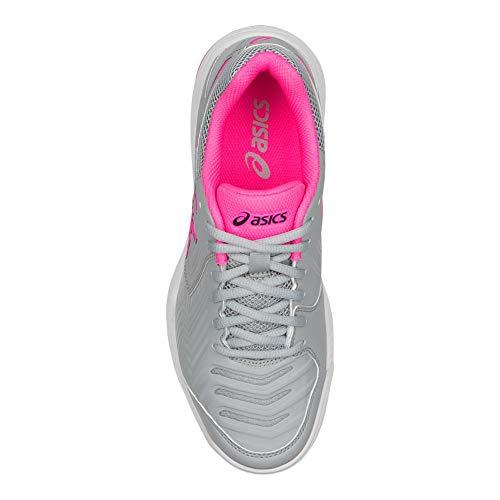 Zapatilla Mujer white Mid Pink Asics Para Grey Gel Tenis game hot 6 qwP6tgY