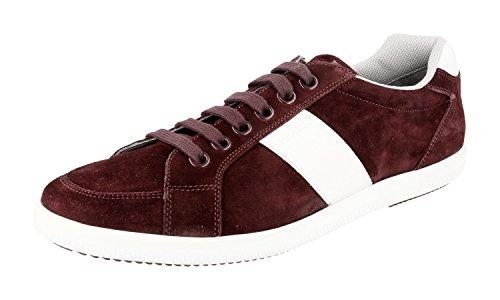 Prada Hombres 4e2845 054 F0007 Sneaker De Cuero