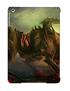 Nice Ipad Air Case Bumper Tpu Skin Cove Rwith Two Headed Demon Creature Design For Thanksgiving Day Gift