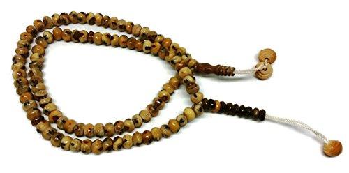 - Muslim Tasbih Prayer Beads Amn034 Date Palm Seeds Islamic Prayer Zikr Misbaha Dhikr Rosary with Decorated Tassels