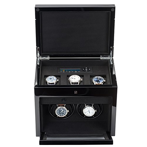 Double Winder Automatic Watches Storage