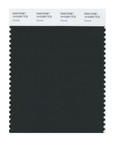 Pantone 19-5350 TCX Smart Color Swatch Card, Scarab