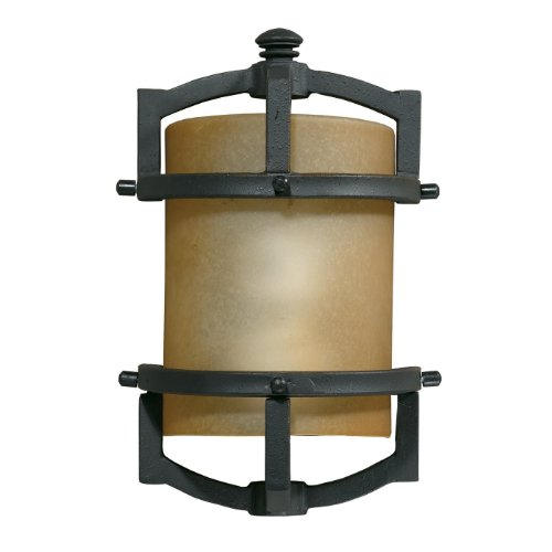 Triarch Lighting Sconce (Triarch 78210-10 Fluorescent Outdoor Sconce, Blacksmith Bronze)