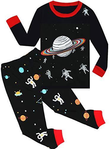 Qtake Fashion Boys Pajamas Summer Short Children Set 100% Cotton Little Kids Pjs Sleepwear Size 12M-12year (1AA-Boys, 8 Year (US 8))