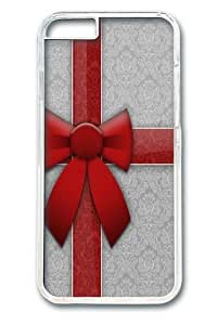 Gift Wrap Custom iPhone 6 Plus 5.5 inch Case Cover Polycarbonate Transparent
