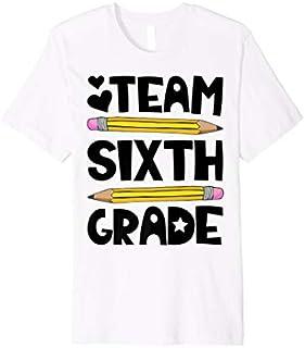 Team Sixth Grade Funny 6th Back To School Teacher Student Premium T-shirt | Size S - 5XL