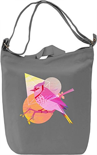 Sweet Bird Borsa Giornaliera Canvas Canvas Day Bag| 100% Premium Cotton Canvas| DTG Printing|