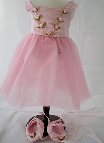 Unique Doll Costume (Unique Doll Clothing Doll Clothes - Ballet Ballerina Dance Dress fits American Girl Dolls and Most 18