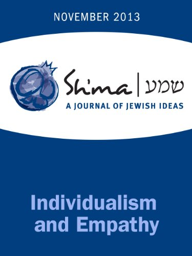 PDF Empathy and Individualism (Shma Journal: Independent Thinking on
