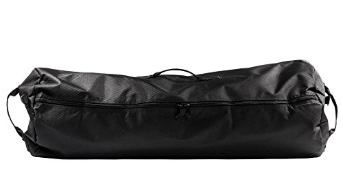 North Star Sports Side Load Duffle Gear Bag 1050 Diamond Rip Stop Tuff Cloth, Midnight Black, 21'' x 36'' by Northstar Sports