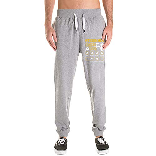 phjyjy Australian Cattle Dog Men's Active Basic Jogger Fleece - Fleece Cattle Australian Dog
