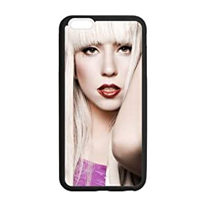 iPhone 6 Plus Case, [lady gaga] iPhone 6 Plus (5.5) Case Custom Durable Case Cover for iPhone6 TPU case(Laser Technology)