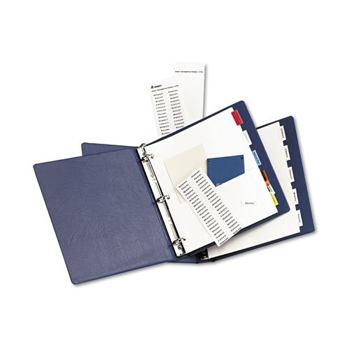 Avery-Dennison 11270 Insertable Dividers With Single Pockets44; 5-Tab
