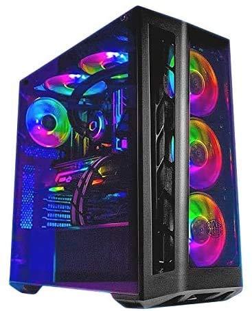 Hardital Pc Gaming Intel Core i9-10900K 10 Core 3.7-5.3GHz Ram 32GB SSD 1TB HD 4TB Nvidia GeForce RTX 2080 Ti 11GB WI FI…