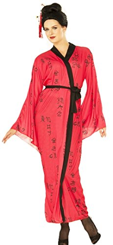 Forum Women's Emperors Lady Costume, Multi/Color, One Size - Kabuki Costume