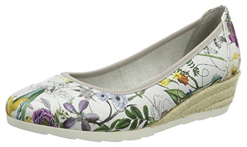 908 Compensées Softline Comb Multicolore 22364 Sandales Femme flower ZEErnB0qS