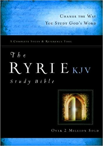 The Ryrie KJV Study Bible Hardcover Red Letter (Ryrie Study Bibles