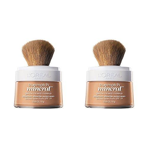 L'Oreal Paris Cosmetics True Match Naturale Foundation, Nude Beige, 2 Count