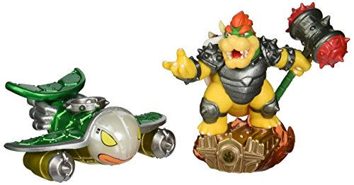 Skylanders Superchargers Supercharged Combo Pack: Bowser and Clown Cruiser - Nintendo Wii U