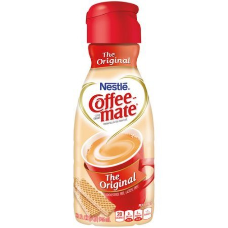 COFFEE-MATE Original Liquid Coffee Creamer 32oz (Pack of 2) by Nestle Coffee Mate