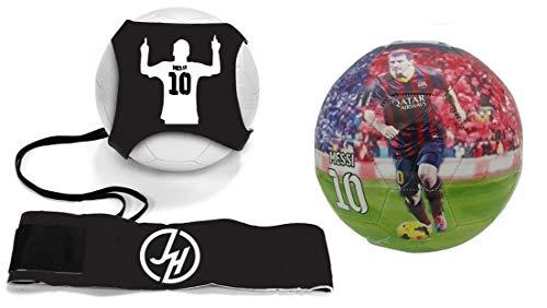 Superstar Soccer Ball FIFA Size 5 Best Gift for Soccer Training | Cristiano Ronaldo Portugal Juventus CR7 | Leo Messi Barcelona | Neymar Jr Brazil | Italy | England | USA