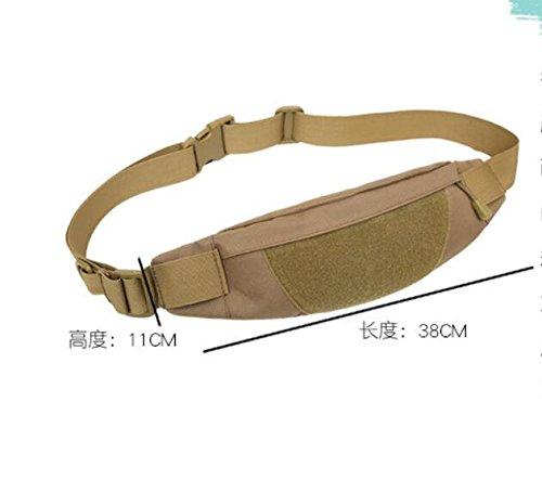 Mefly Los bolsillos del hombre nuevo, el hombre bolsas de deporte, deportes al aire libre, bolsas impermeables Wear-Resistant,Desert Digital,Tamaño especial