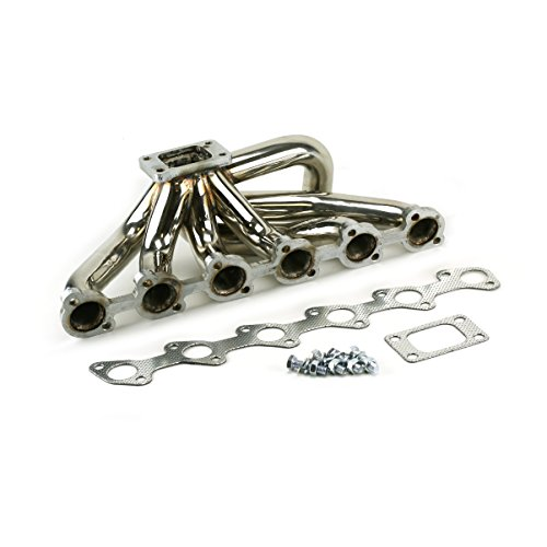 DIYPSI - BMW E30 M20 Top Mount T3 Turbo Manifold, 304 Stainless Steel Tig Welded Construction, 2 Year Warranty Against Cracking 1/2
