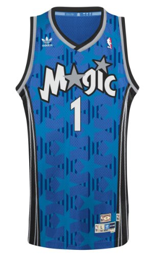 Tracy McGrady Orlando Magic Adidas NBA Throwback Swingman Jersey - Blue