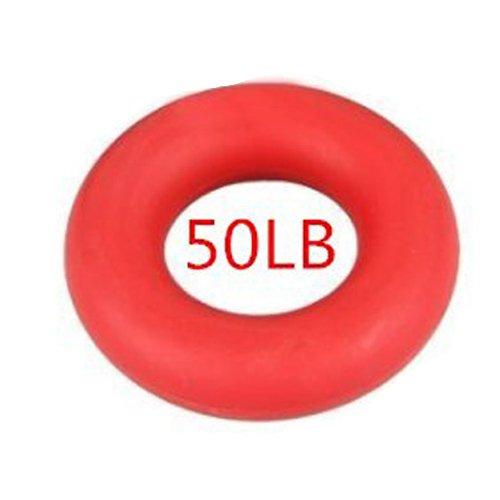 Poignée 8,8 cm de l'avant-bras de préhension de force la main 3 couleurs 30,40,50LB Bague en caoutchouc Exerciser Gym
