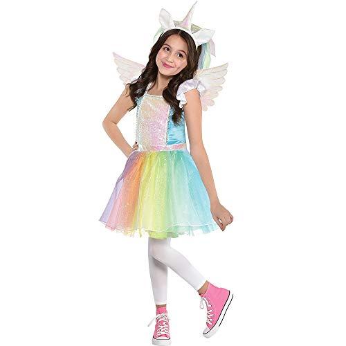 Party City Iridescent Rainbow Unicorn Costume for