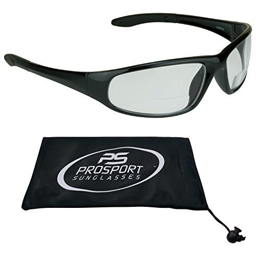 Motorcycle Bifocal Safety Glasses Day Night +150 Z87 Impact Resistant Polycarbonate - Impact Z87