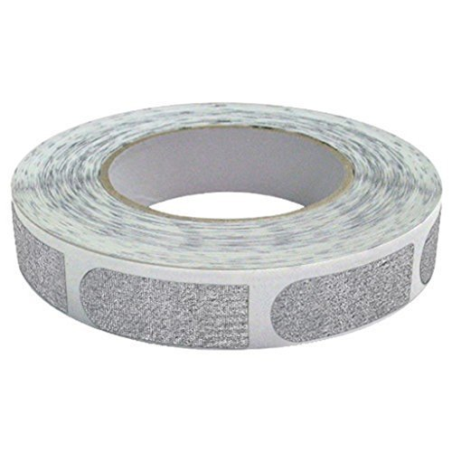 Real Bowlers Tape Silver 500ct Roll 3/4 inch by Tools Supply