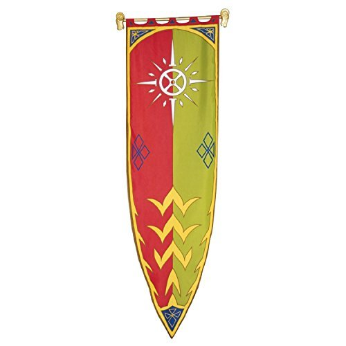 Lord of the Rings - Flag - The Banner of Rohan III - 23x78 Inch Limited Edition by filmwelt-shop